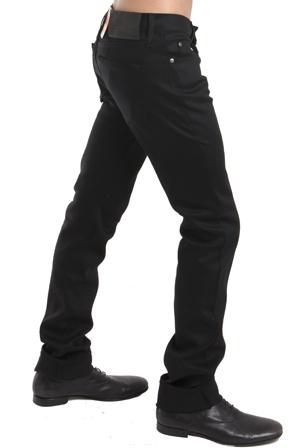 Naked & Famous Denim Skinny Guy in Black Power Stretch