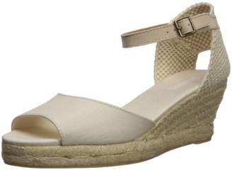 Soludos Women's Open-Toe midwedge (70mm) Espadrille Wedge Sandal