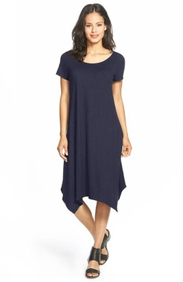 Women's Eileen Fisher Hemp & Organic Cotton Handkerchief Dress $188 thestylecure.com