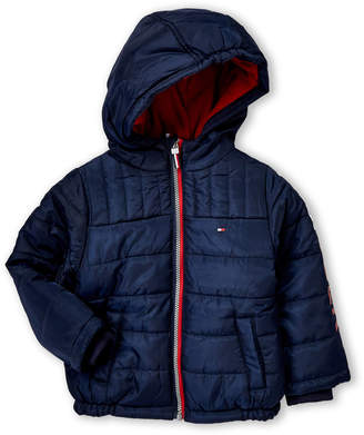 Tommy Hilfiger Toddler Boys) Mason Logo Puffer Jacket