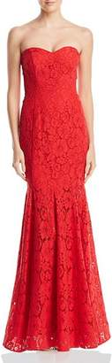 Decode 1.8 Strapless Lace Gown