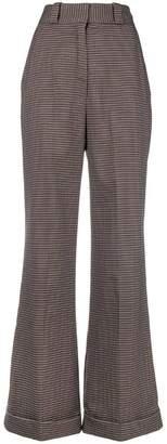 See by Chloe masculine wide-leg trousers