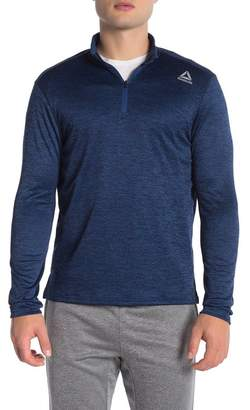 Reebok 1\u002F4 Zip Double Knit Pullover
