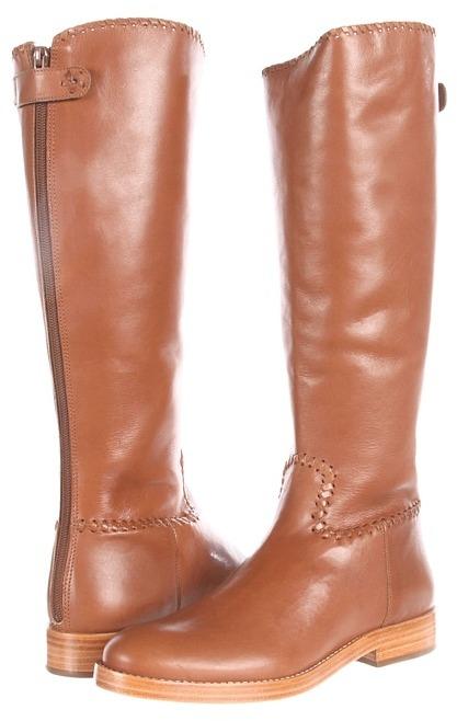 Jack Rogers Tack Riding Boot (Oak) - Footwear