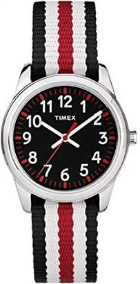 Timex Boys TW7C10200 Time Machines Metal Nylon Strap Watch