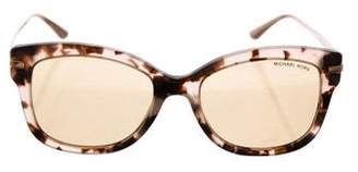 Michael Kors Marble Mirrored Sunglasses