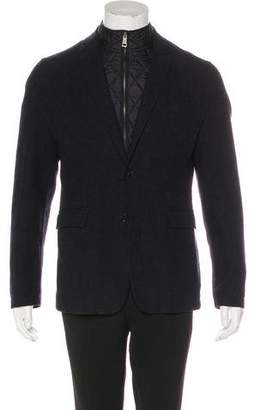 Burberry Layered Wool Blazer