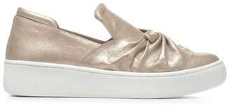 Donald J Pliner CELEST, Metallic Brush Off Slip-On Sneaker