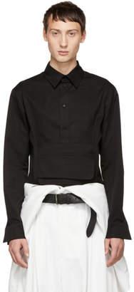 D.gnak By Kang.d Black Waistband Shirt