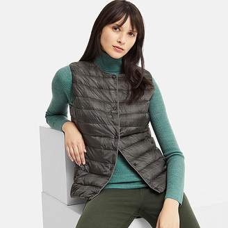 Uniqlo Women's Ultra Light Down Puffer Compact Printed Vest