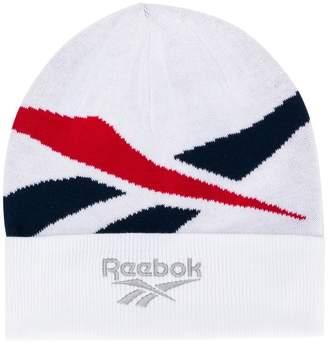 Reebok logo beanie