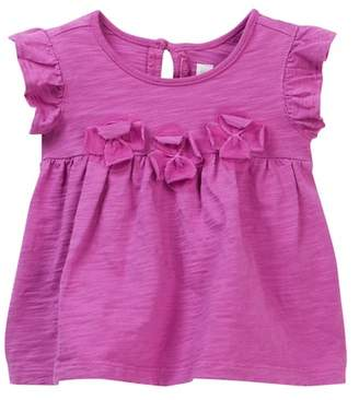 Tea Collection Hove Applique Baby Tunic (Baby Girls)
