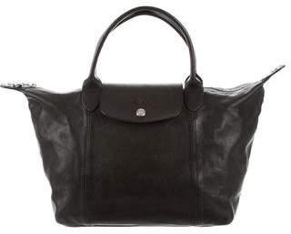 Longchamp Leather Le Pliage Bag
