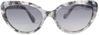Dolce & Gabbana Grey Plastic Sunglasses