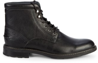 Sperry Annapolis Leather Lace-Up Boots