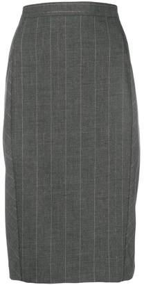 Blumarine striped pencil skirt