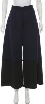 Calvin Klein Collection High-Rise Wide-Leg Pants w/ Tags
