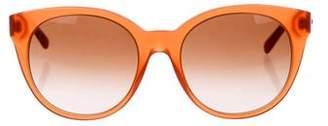 Versace Overesize Gradient Sunglasses
