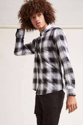 Forever 21 Cotton Plaid Shirt