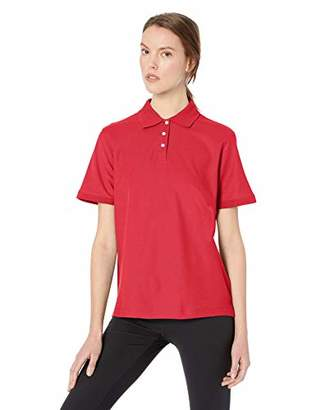 D & Jones Women's Sleeve Stretch Poplin Blouse