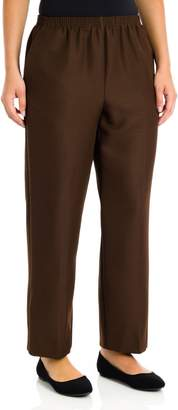 Alfred Dunner Plus Size Basic Polyester Pull-On Pants 09200