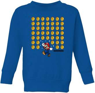 e91b8c1a9 Nintendo Super Mario Coin Drop Kid's Sweatshirt