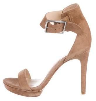 Calvin Klein Suede High Heel Sandals