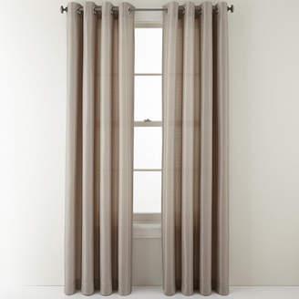 STUDIO BY JCP HOME StudioTM Reynolds Grommet-Top Curtain Panel