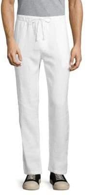 Saks Fifth Avenue Solid Linen Pants