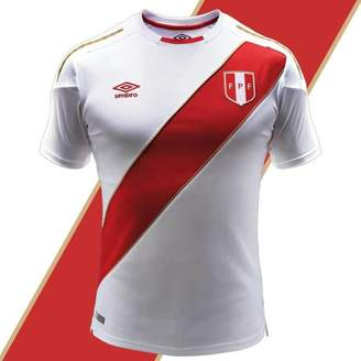 Umbro Official Peru World Cup Jersey - Authentic Men's Soccer Shirt