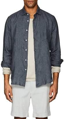 Hartford Men's Washed Linen Shirt