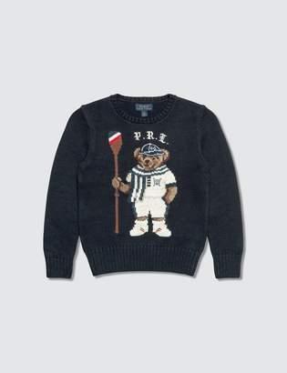 Polo Ralph Lauren Rowing Bear Cotton Kids Sweater