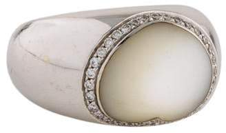 Ring Pasquale Bruni 18K Mother of Pearl & Diamond