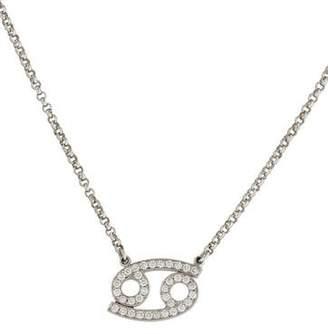 Ron Hami Joseph Hami Cancer Diamond Necklace