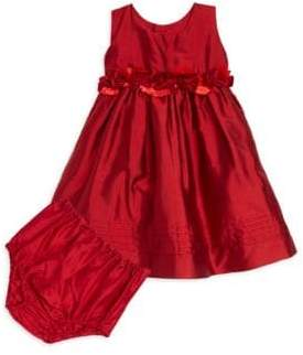 Isabel Garreton Baby's Silk A-Line Dress & Rashguard Set