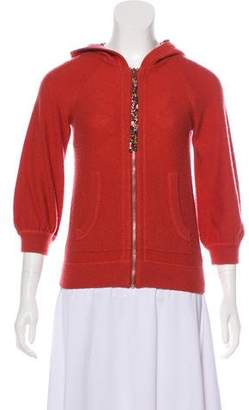 Marc by Marc Jacobs Cashmere Zip-Up Cardigan