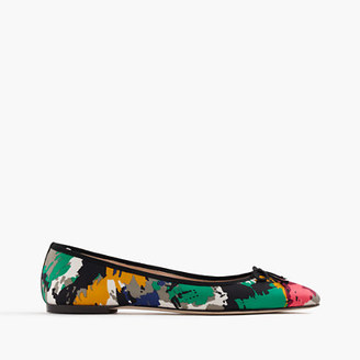 Gemma flats in colorful brushstroke print $118 thestylecure.com