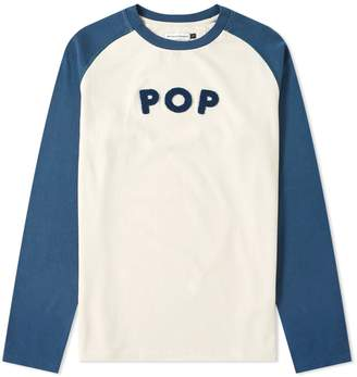 Pop Trading Company Long Sleeve Uni Raglan Tee