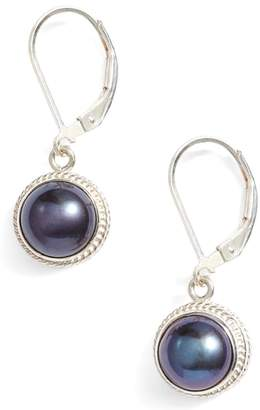Anna Beck Genuine Blue Pearl Drop Earrings
