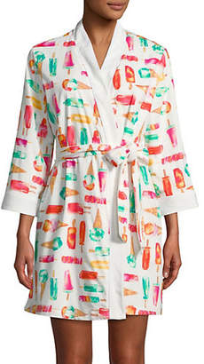 Kate Spade Multi Treat Print Robe