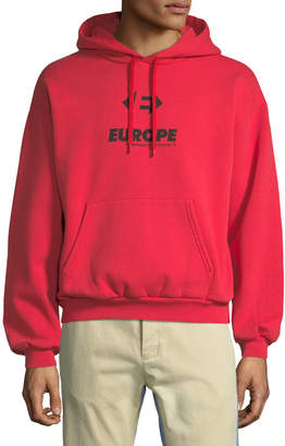 Balenciaga Europe Graphic Hoodie