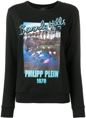 Philipp Plein black Beverly Hills sweater