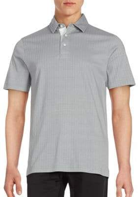 Saks Fifth Avenue Cotton Polo Shirt