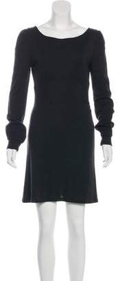 Diane von Furstenberg Long Sleeve Empire Dress