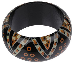 Dotted Tribal Bangle
