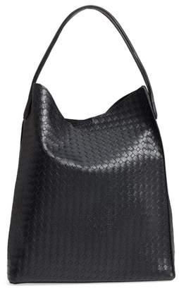 Emperia Patrice Woven Faux Leather Hobo