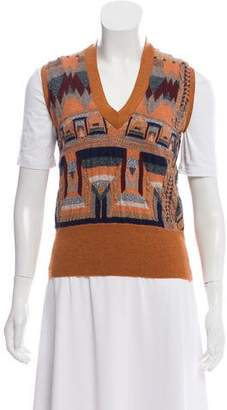 Etro Patterned Sweater Vest