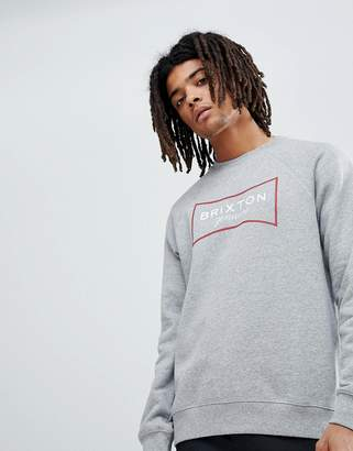 Brixton Ramsey Sweatshirt With Large Logo