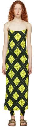 Marc Jacobs Green Redux Grunge Cami Dress