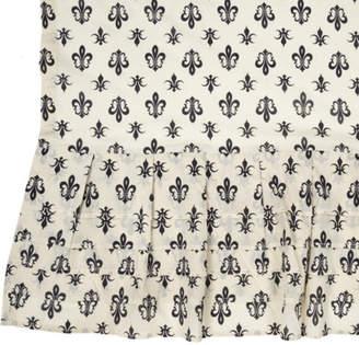 August Grove Aurelia Ruffled Cotton Shower Curtain